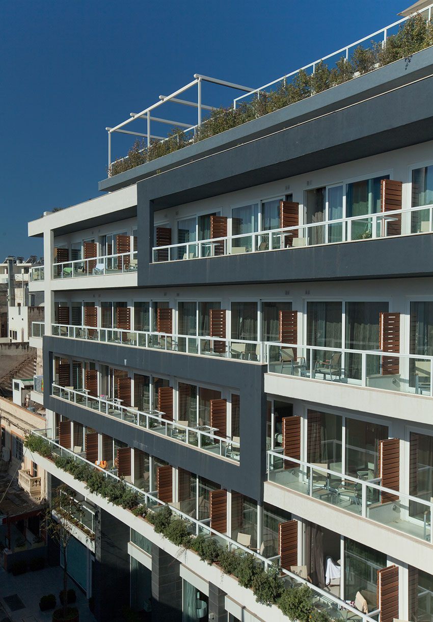 The George Hotel Malta Exterior View - The George, Urban Boutique Hotel